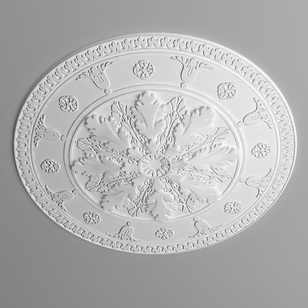 3d ceiling medallion