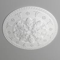 Ceiling medallion012