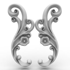 arch elements 19 3d model