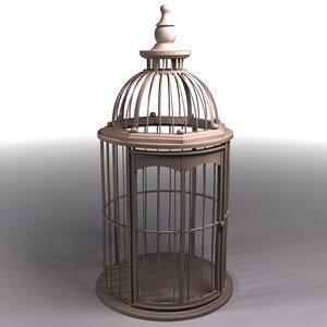 bird cage 3d max