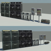3ds max concert equipment pack