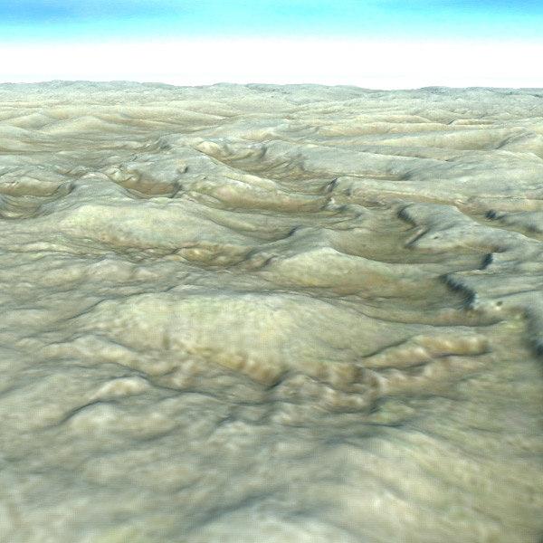 desert scene landscape terrain max