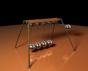 c4d newton cradle mograph physics