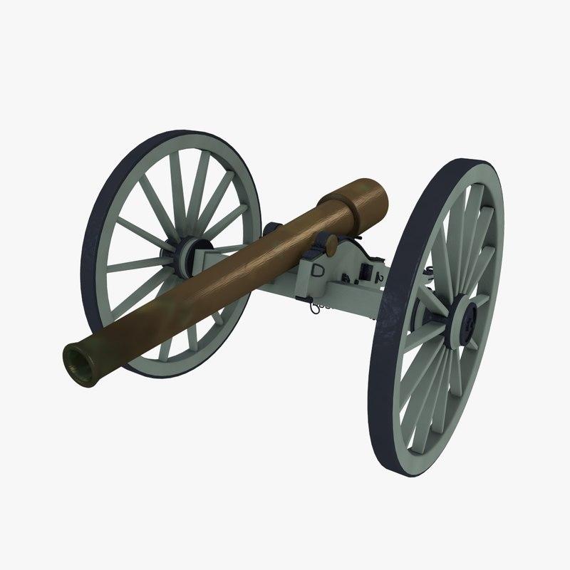 rifle civil war 3ds