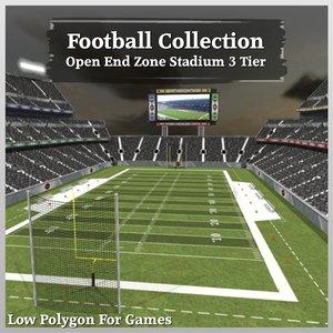 maya football open end zone