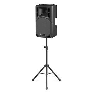 3d model qtx portable speaker