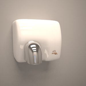 3d max dolphin hand dryer