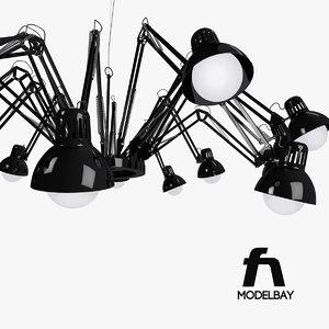3d lamp dear ingo model
