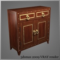 3d cabnet drawers doors model