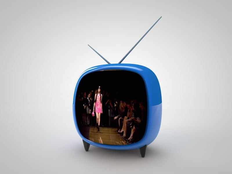 3ds max tv screen