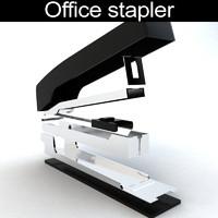 3d stapler materials model