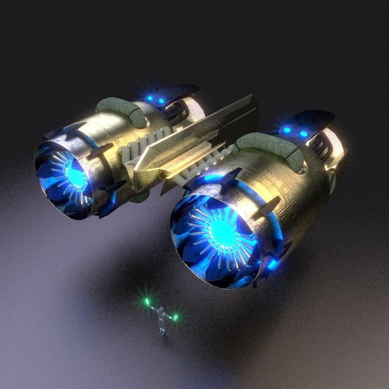3d model stardrive array