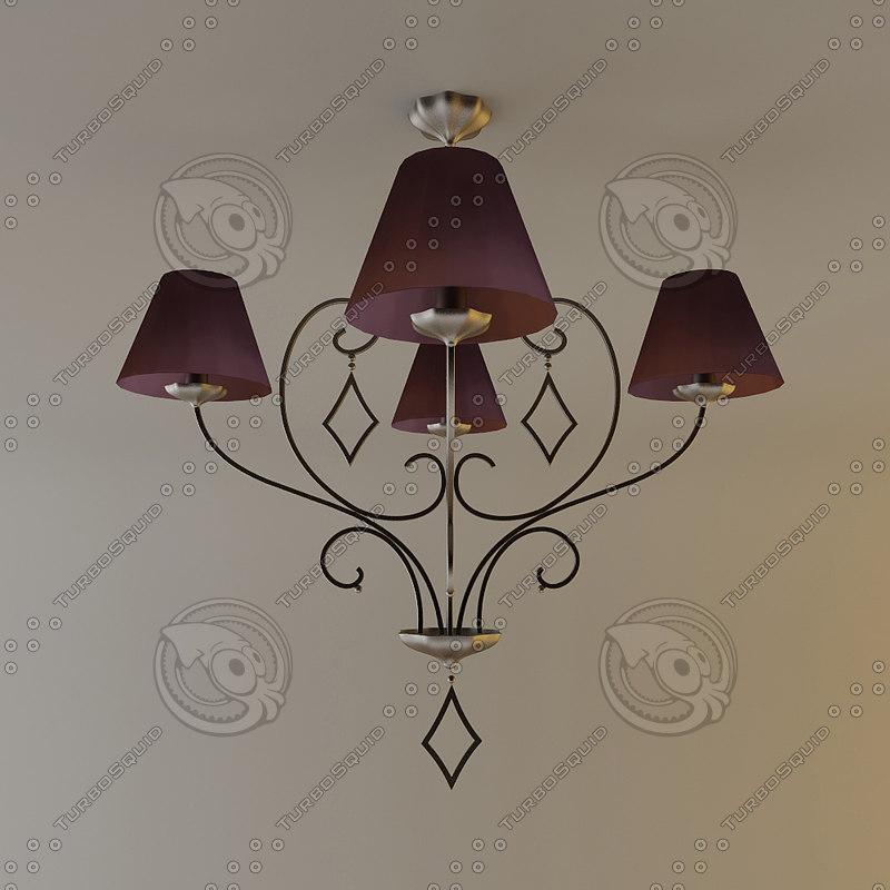 3ds max objet insolite verone lamp