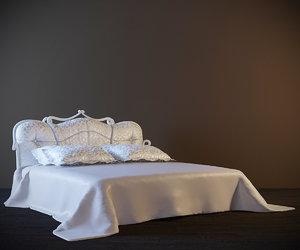 3dsmax classic bed libero