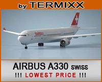 airplane airbus a330 3d c4d