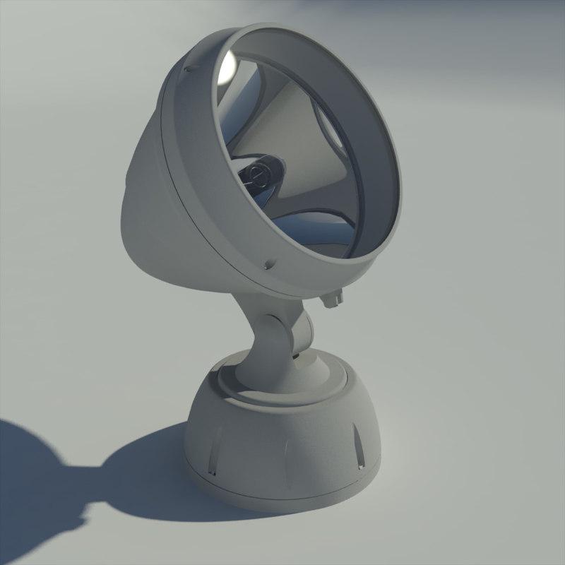 3d adjustable light model