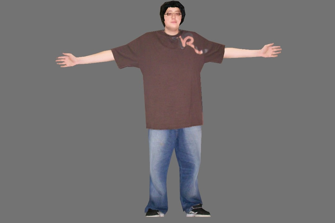 3d man guy male model
