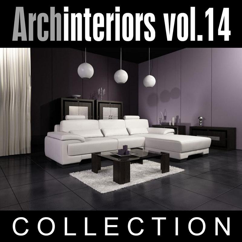 3d archinteriors vol 14 model