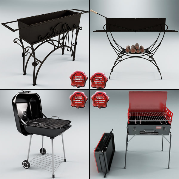 3d barbecue v3