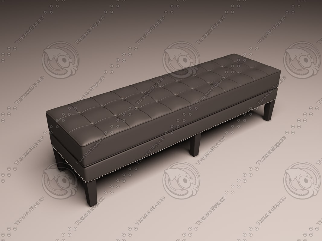 eichholtz bench tribeca 3d model
