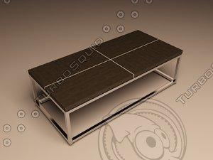 3d eichholtz table coffee magnum model