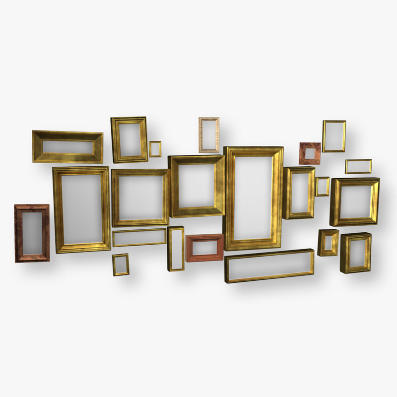 picture frame 3D Models | TurboSquid.com