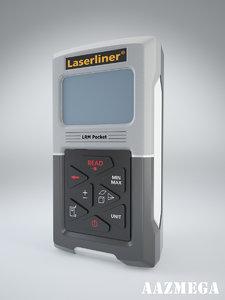3d max laserliner pocket laser
