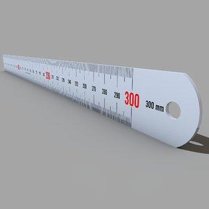 c4d metal ruler