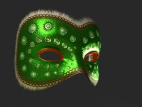 Venetian Carnival Mask 16