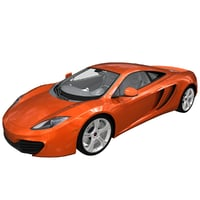 3ds max realistic mclaren mp4 12c