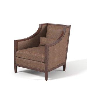 modern club lounge 3d max
