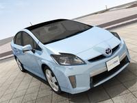 3D Model Toyota Prius PHV 2012 Plug-in Purius