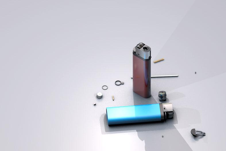 c4d lighter