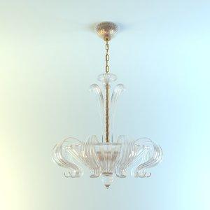 lampadario 1131 60 cr 3d model
