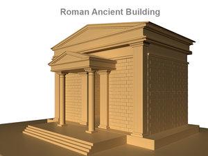 ancient roman building 3ds