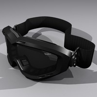 wiley x spear goggles 3d model