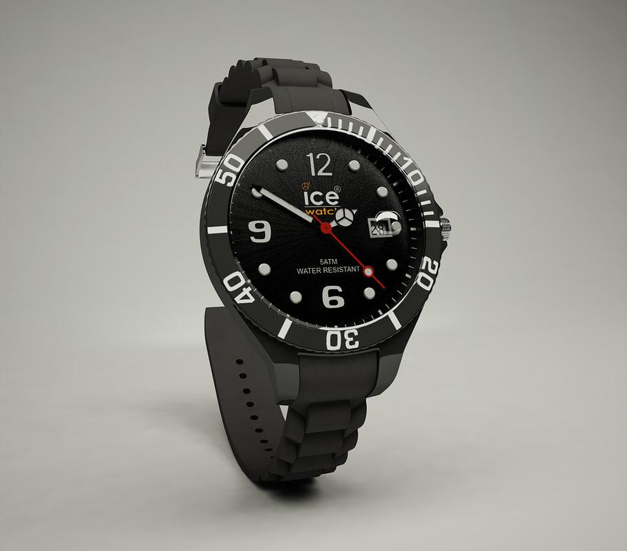 ice watch 3d model