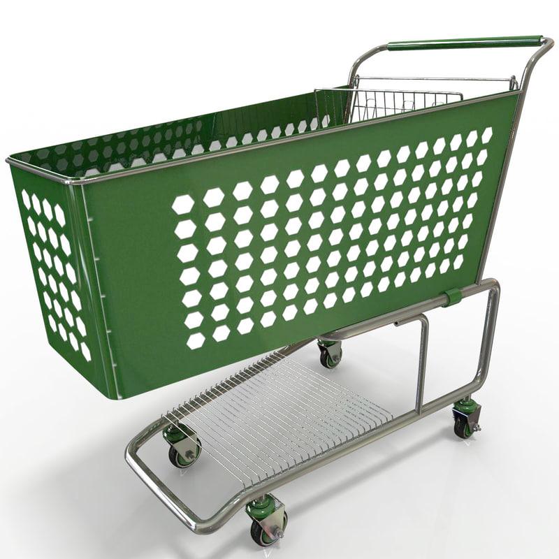 max supermarket trolley v4