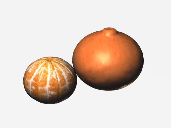 3d tangerine