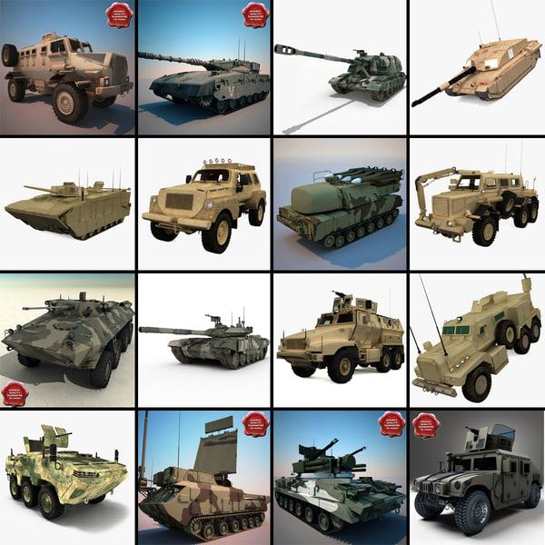 tanks v13 3d model