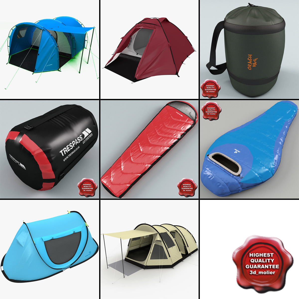 max tents sleeping bags