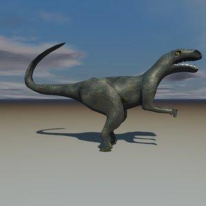 allosaurus dinosaur 3d 3ds