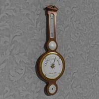 barometer hands max
