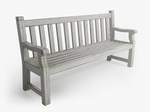 park bench max free