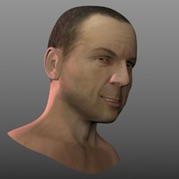 3ds max head bruce willis