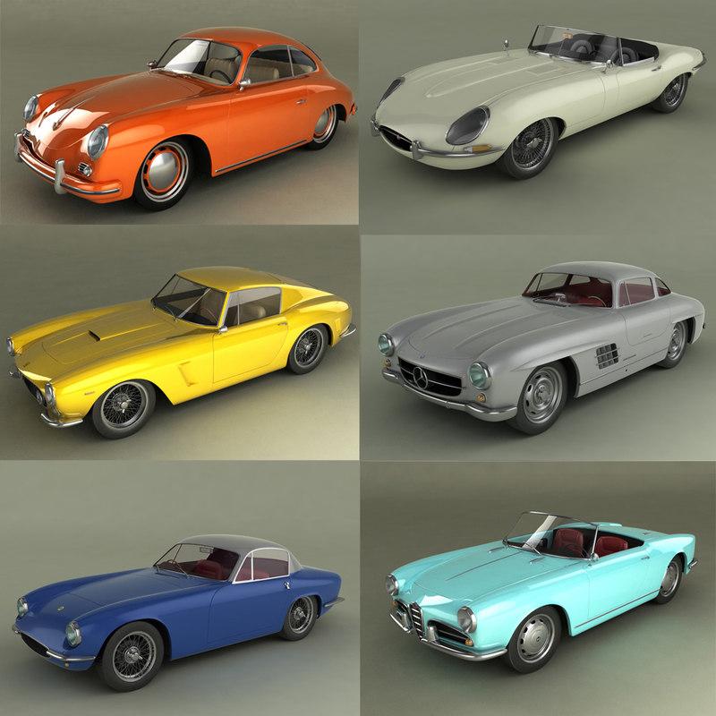 classic cars porsche mercedes max