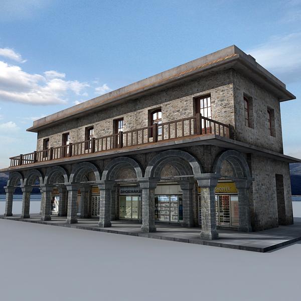 3d coast shop model