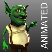 goblin character phonemes 3d max