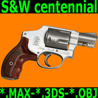 3d smith wesson centennial