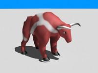 3d max bull